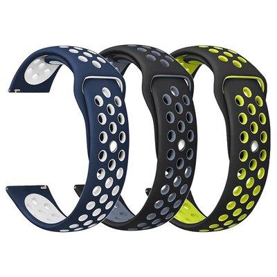 小花精品店-華米2米動青春版錶帶AMAZFIT運動手錶 三星sport S3硅膠錶帶22mm0