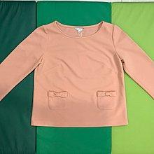 IRIS GIRLS典雅上衣。 橘粉膚色會顯白。  (全新M號)/全館上衣或短裙任選2件有優惠