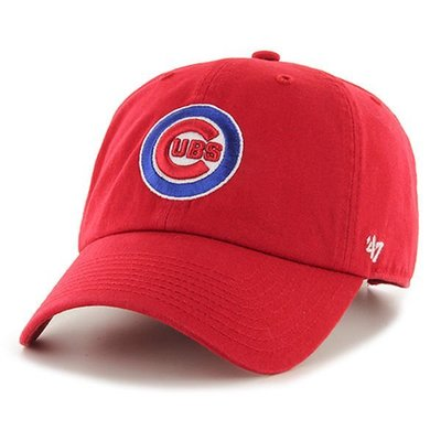 MLB小熊隊Chicago Cubs '47 Brand Clean Up Adjustable Hat棒球帽