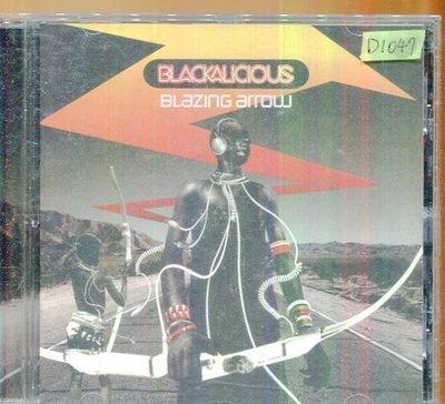 *還有唱片四館*BLACKALICIOUS / BLAZING ARROW 二手 D1047