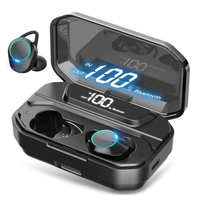 《FOS》日本 Tonbux 無線 藍牙耳機 高續航力 PSE認證 IPX7防水防塵 運動耳機 團購 2019新款 熱銷