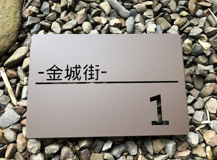 不鏽鋼諧意門牌,伸張屬於自己的生活感與風格,見到就有好心情