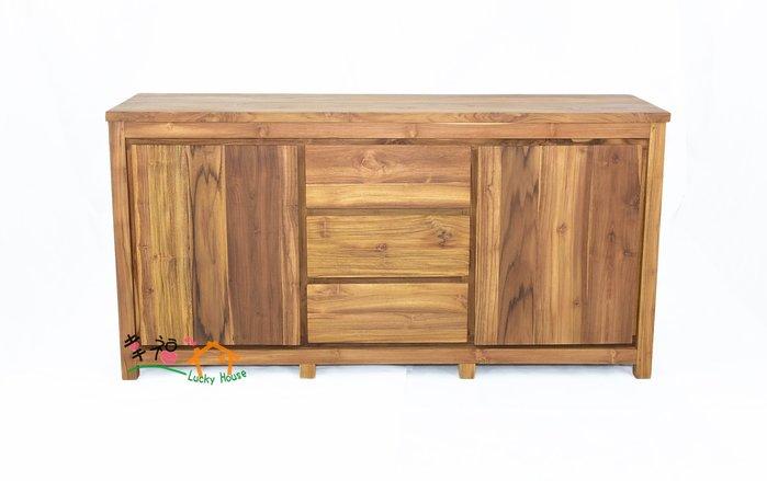 幸福家傢俱 柚木儲物櫃(CL20120827-2) 餐邊櫃 柚木傢俱