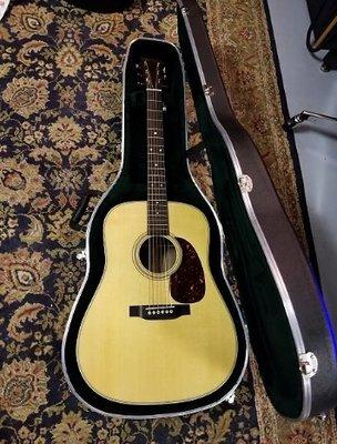 二手9.9成新美品 美國品牌Martin D28  41吋全單吉他 民謠木吉他 附原廠琴盒2018年新款