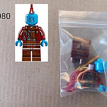 全新未砌 Lego 76080 Marvel Super Heroes - Yondu人仔 1隻