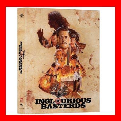 【BD藍光】惡棍特工:外紙盒限量鐵盒版(台灣繁中字幕)Inglorious Bastards史密斯任務布萊德彼特