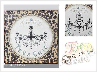 [FHD zakka 花心犬*瘋雜貨]  歐洲復古作舊鐵片畫洗手間廁所告示壁飾 日本鄉村田園風