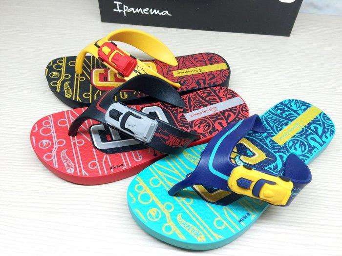 嘉年華 巴西人字鞋 Ipanema 兒童小賽車人字鞋