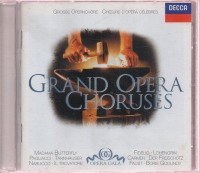 美的二手珍藏CD Grand Opera Choruses