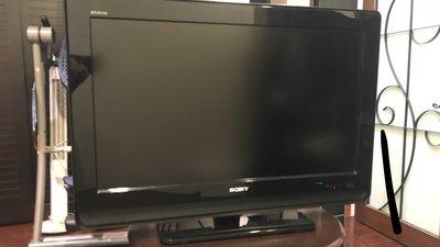 日本SONY新力 32吋液晶電視 KDL-32S4000 二手品,功能正常 附有原廠遙控器