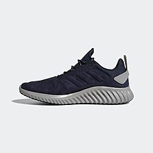 ADIDAS NAVY ALPHABOUNCE CITY RUN SNEAKER - US 8