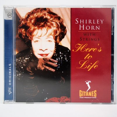 Shirley Horn with Strings Here's to life  2005 CD