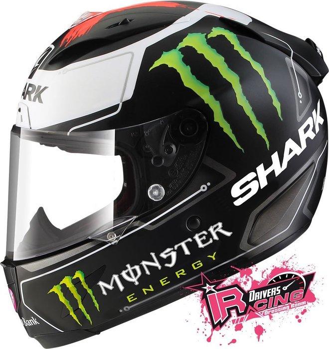♚賽車手的試衣間♚ Shark® Race-R Pro Lorenzo Monster 碳纖維 安全帽