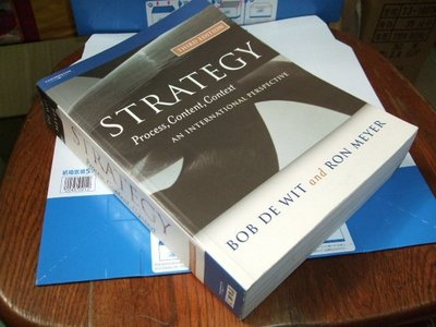 古集二手書51 ~Strategy 3/e Bob de Wit Ron Meyer 1861529643