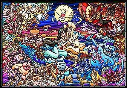 拼圖專賣店 日本進口拼圖 DP1000-029(1000片塑膠拼圖 迪士尼 阿拉丁)