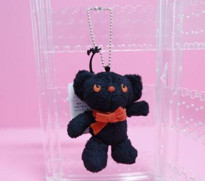 【Dona日貨】日本正版 Miffy米飛好朋友Dick Bruna小黑熊布魯納經典站姿 珠鍊吊飾/包包掛飾 C47