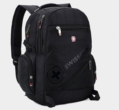 SWISS GEAR 強化防震多功能後背包 - (限時特惠 買一送一) 還可放入15吋筆電