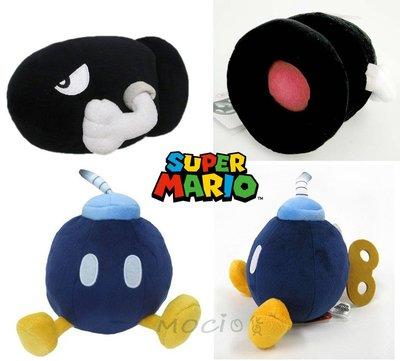日本正版 瑪利歐 瑪莉兄弟 飛彈 炸彈兵 娃娃 玩偶S 超級瑪利歐 瑪莉歐 任天堂【MOCI日貨】