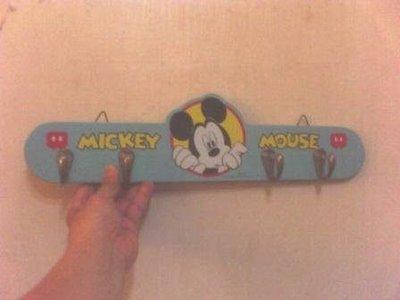 全新mickey mouse米奇四勾吊衣架/掛勾