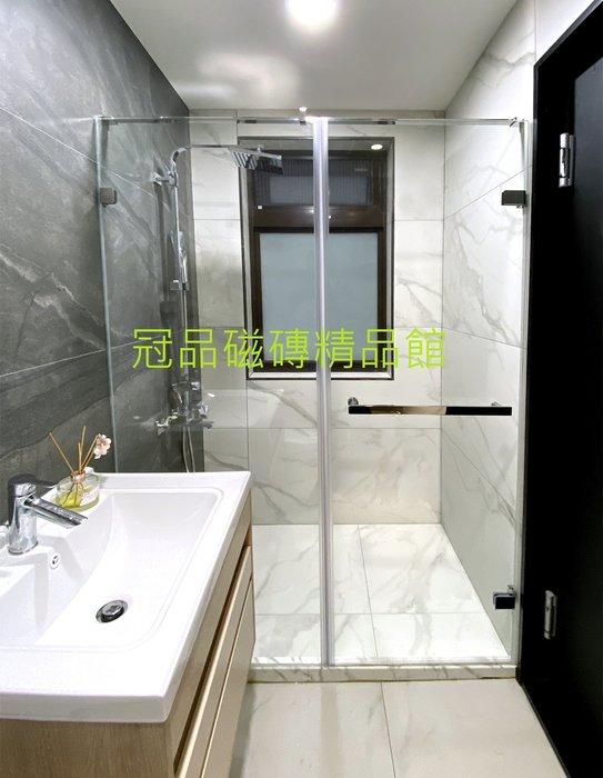 ◎冠品磁磚精品館◎進口精品 霧面銀狐白 –60X120CM(另有30X60,60X60)