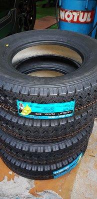 貨車胎 165R13C 全新貨車胎 13吋貨車胎 安全 省油 載重 安靜 舒適