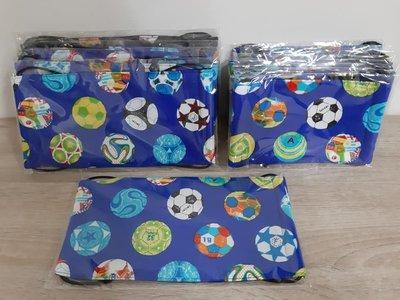 【小茉莉】手作幼童平面口罩/台灣棉布手作口罩→足球-藍色