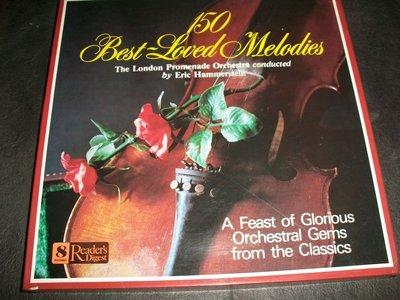 LP黑膠唱片 ﹣ 150 BEST LOVED MELODIES / 8LPs