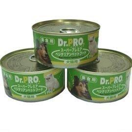 【🐱🐶培菓寵物48H出貨🐰🐹】DR.PRO_犬貓機能性健康『素食』罐頭-170gx1罐 特價34元(自取不打折) 桃園市