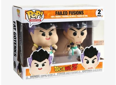 現貨  美國 FUNKO POP Dragon Ball Z 七龍珠Z Failed Fusions  限定版