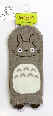 *Miki日本小舖*日本帶回宮崎駿 龍貓 TOTORO 咖啡色 短襪  23~25cm