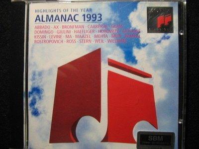 ALMANAC 1993 - Highlights of the Year - 1993年澳洲盤 - 保存如新 - 251元起標 古典  55