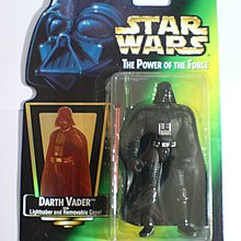 Star Wars 星球大戰 黑武士 The Power of the Force Darth Vader 3.75吋 figure