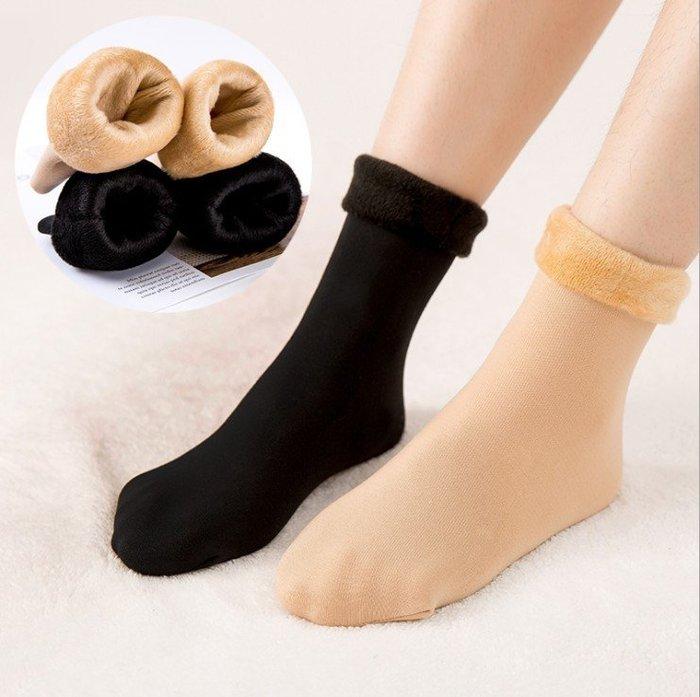 最怕腳冷 高保暖 刷毛襪 雪地襪 加厚加絨襪 保暖襪 彈性中筒襪 保暖短襪 彈力短襪 靴襪(ZWA3)