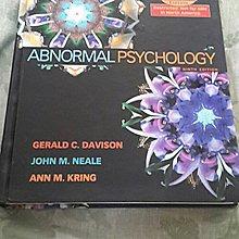【紫晶小棧】《ABNORMAL PSYCHOLOGY 9/E 2004》ISBN:0471449105