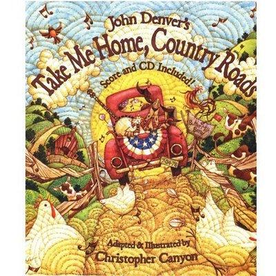 全新絕版出清【精裝書+JYCD】John Denver's ~Take me home, Country roads