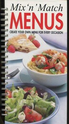 【語宸書店A204/食譜】《Mix N Match Menus: Create Your Own Menu for Every Occasion》ISBN:1582792097