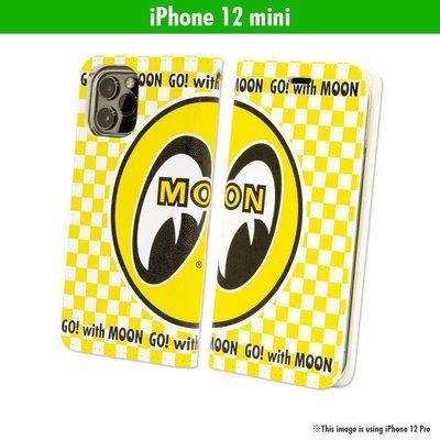 (I LOVE樂多)MOON Eyeball iPhone 12 mini專用手機皮套[MG909-12M ]