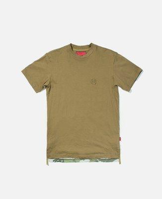 CLOT PANELLED S/S TEE 短袖上衣 軍綠