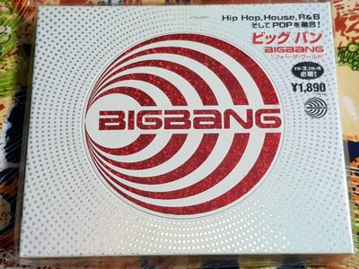 R韓日語(全新未拆CD)BIGBANG~FOR THE WORLD~韓國版~ 台北市