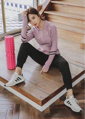 【路依坊】健身運動2件組套裝/運動外套...