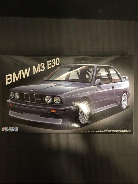 COME 玩具 再次到貨 只有一台 FUJIMI 1/24 BMW M3 E30