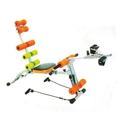 10合一全方位健身機健美機 升級臀部搖擺座墊HY-29968(送手指按摩器*2)腳踏健身車 健美擴胸拉力繩 輝葉集團保固