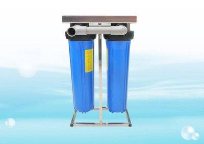 【水易購新豐店】ADD不鏽鋼水塔過濾器-適用低水壓或大通量使用《大胖2道並連式》