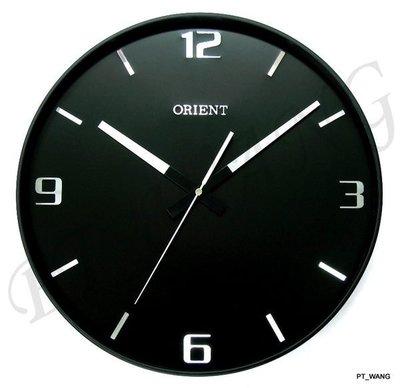 《《 PT屏信時計 》》日本 東方 ORIENT 金屬外框 歐式藝術 靜音 時鐘 掛鐘 ART1204,ART-1204
