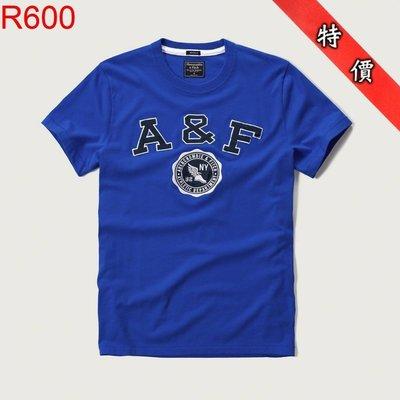 【西寧鹿】AF a&f Abercrombie & Fitch HCO  T-SHIRT 絕對真貨 可面交 R600