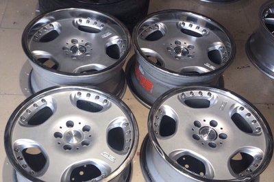 OZ 18寸正品鍛造兩片鋁圈 經典款式 賓士 奧迪 W210 W124 w129 w126 190E w211 S124 S210