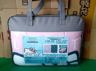 711三美聯名 Kitty雙面薄被 粉紅色款