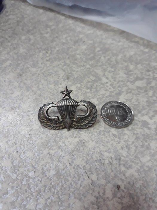 {詠鑫}-非常非常早期-傘兵銀質紀念章-