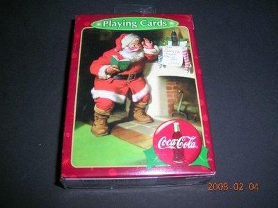 可口可樂撲克牌-聖誕節版