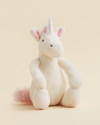 預購 英國 JELLYCAT 寶寶的第一個朋友 可愛獨角獸 最精緻的絨毛玩偶 生日禮 Bashful Unicorn